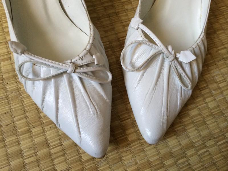 Escarpin mariage San Marina trang