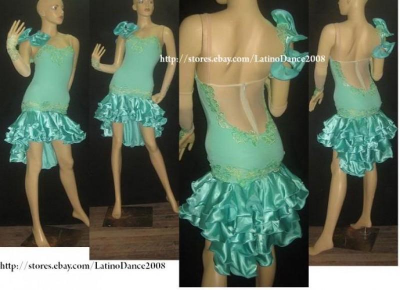 mẫu áo nhảy latin